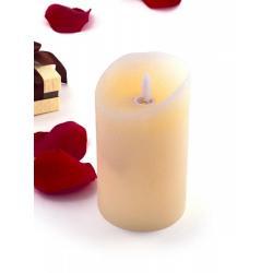 Светильник Лючия. Свеча, восковая, светодиодная свеча, 7,5x12,5 см