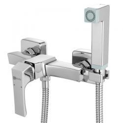 Смеситель встраиваемый с гигиеническим душем Lemark Unit