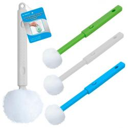 Щетка для мытья банок, с телескопической ручкой