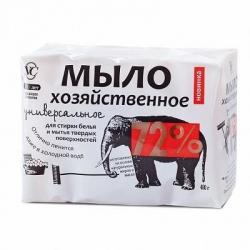 Мыло Хозяйственное 72%, универсальное, 100 грамм (4 шт)