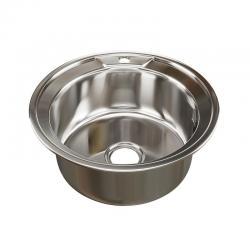 Мойка врезная круглая Mixline, диаметр 49 см, арт. 528183
